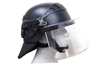 New helmet for the French police