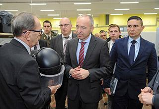 Posjet potpredsjednika Vlade i ministara obrane RH Damira Krstičevića