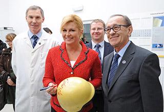 Posjet hrvatske predsjednice Kolinde Grabar-Kitarović