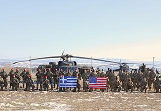 ŠESTAN-BUSCH kacige u sastavu grčkih oružanih snaga