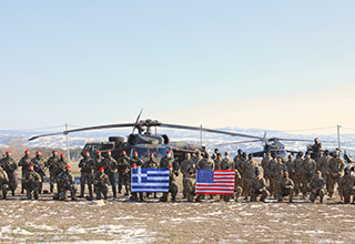 ŠESTAN-BUSCH helmets in Hellenic Army – PEGASUS 21 Military exercise